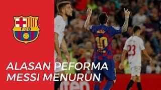 Alasan Utama Performa Messi Awal Musim Ini Menurun
