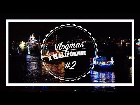 VLOGMAS z KALIFORNIE #2 | Chill & přehlídka vánočních lodí v Newport Bay