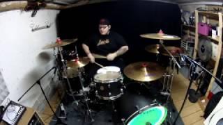 Krokus Drive it In Drum Cover by JCD Drummer