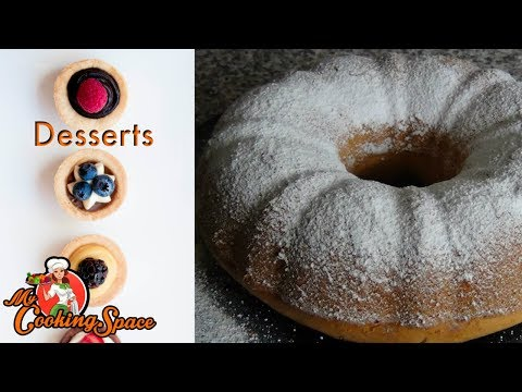 Video Whipping Cream Pound Cake| My Cooking Space