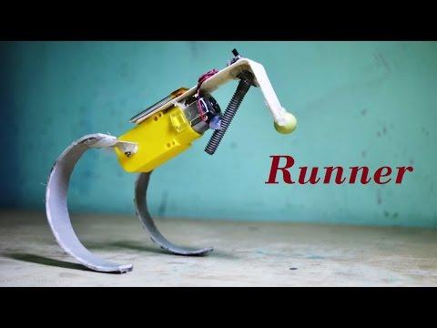 Hướng dẫn tự chế người máy chạy maratông