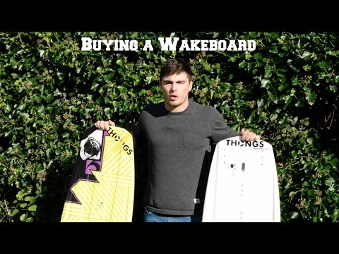 Buying a Wakeboard? - Everything you need to know - Board Size - Types of Rocker - Cable vs Boat