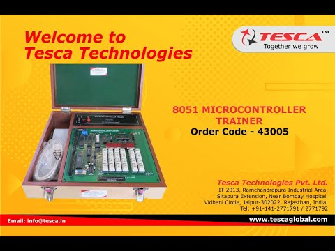 8051 Microcontroller Trainer