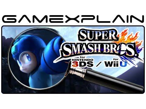 Super Smash Bros. Wii U & 3DS - Analysis (Secrets & Hidden Details)