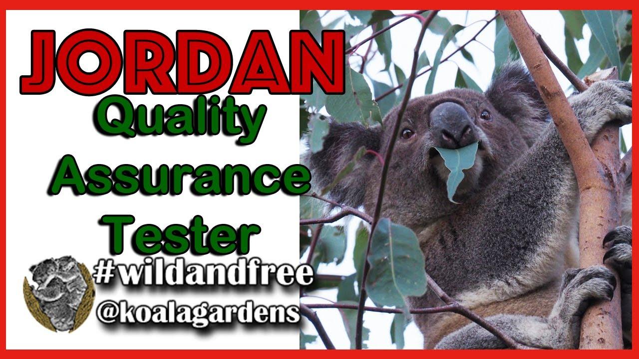 Jordan the Quality Assurance Monitor