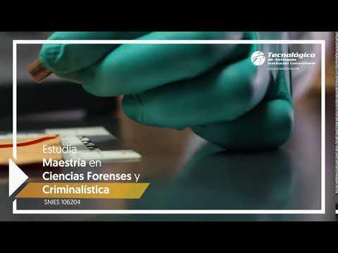Maestría en Ciencias Forenses y Criminalística