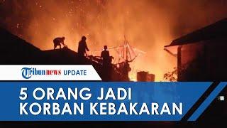 Kebakaran Pesantren di Cianjur Tewaskan 5 Orang Santri, 2 di Antaranya Meninggal Tersengat Listrik