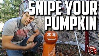 Snipe Your Pumpkin Contest - Halloween 2014