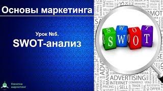 SWOT анализ. Основы маркетинга. Урок 5