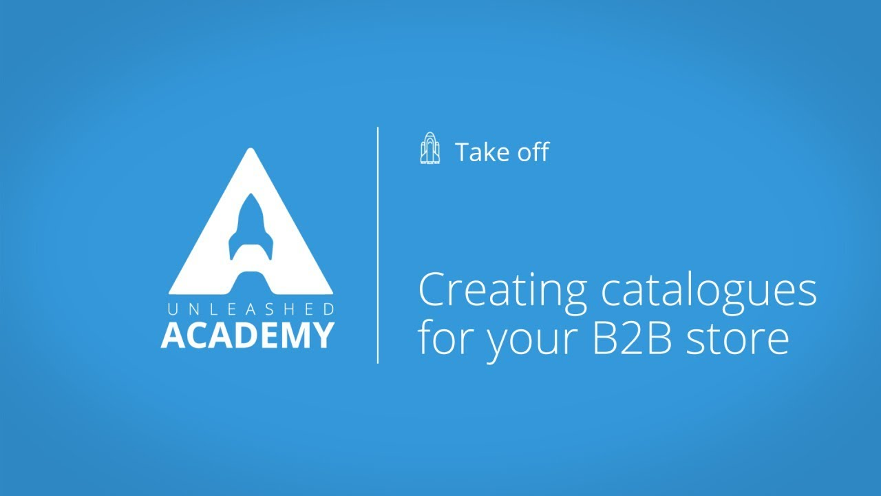 Creating catalogues for your B2B store YouTube thumbnail image