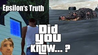 GTA San Andreas Secrets and Facts 15
