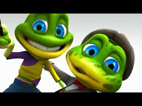 Crazy Frogs - I Like  Move It  🤗 Зеленый  Лягушонок