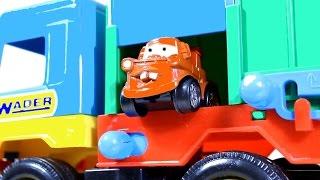 Мультфильмы про машинки  Прятки на Детской Площадке
