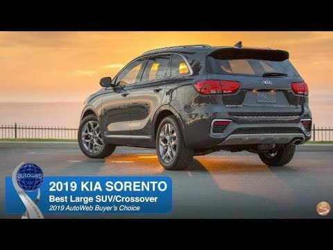 2019 Kia Sorento Wins the AutoWeb Buyer