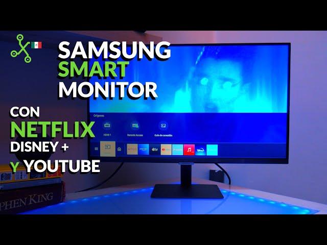 Samsung Smart Monitor M5: MONITOR con NETFLIX llega a MÉXICO