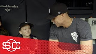 My Wish: Luca gets to be a New York Yankee with Aaron Judge | SportsCenter | ESPN