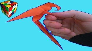 Как сделать попугая из бумаги. Попугай оригами своими руками. Поделки из бумаги