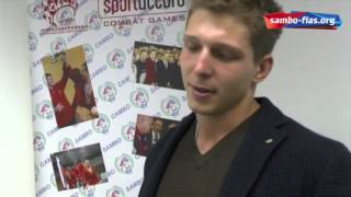 Sambo players Ivan Morozov and Aleksandr Perepeluk visiting FIAS