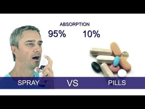 Video Huge Benefits From Spray Supplements Verses Pills