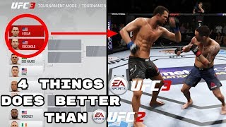 4 Things EA Sports UFC 3 Does Better Than EA Sports UFC 2