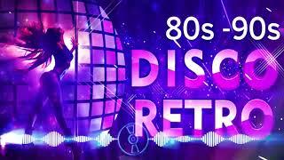 Musica Disco Dance De Los  Y 90 Exitos En Ingles - Mejor Musica Retro Disco De Los 80s Y 90s Megamix