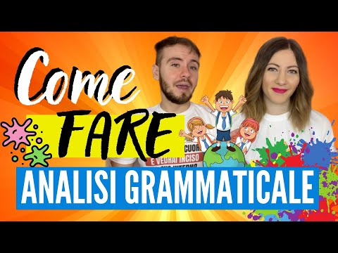 Download L'ANALISI GRAMMATICALE in italiano: Impara Come Analizzare Tutti gli ELEMENTI della FRASE 👨🏻‍🏫 👩🏼‍🏫 HD Mp4 3GP Video and MP3