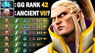 WTF GAME!! Yowe Invoker Rank 42 China vs Ancient VII Storm Spirit Mid   Dota 2 Invoker