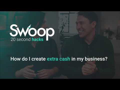 How do I create extra cash in my business?