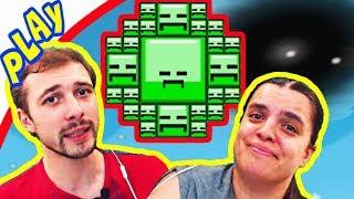 БолтушкА и ПРоХоДиМеЦ в КОСМОСЕ Встретили Цветастых КВАДРАТОВ! #101 Игра для Детей - Blosics