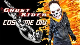 GHOST RIDER HALLOWEEN COSTUME DIY FOR KIDS!