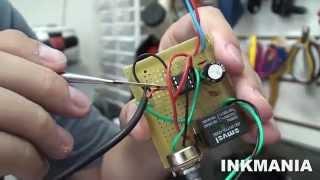 Como Fazer Temporizador Timer Monoestável 555 Regulavel Para Máquina De Recarga