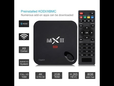 TV BOX ANDROID VICTSING MX3 MXIII KODI 4K: La recensione di Oderfla!