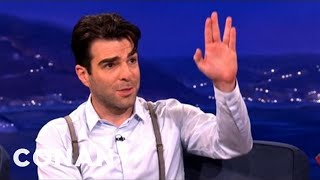 Zachary Quinto Got the Spock Salute From Obama