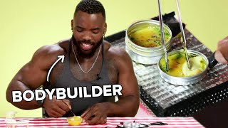 Bodybuilders Try Tiny Cooking thumbnail