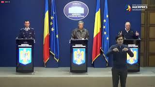 Declarații de presă susținute de ministrul Afacerilor Interne, Ion Marcel Vela și secretarii de stat Bogdan Despescu și Raed Arafat