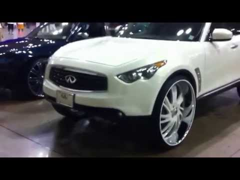 "Krownholder's Infiniti FX35 On 30"" Asanti's"