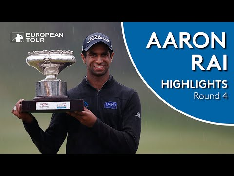 Aaron Rai Winning Highlights | 2018 Honma Hong Kong Open