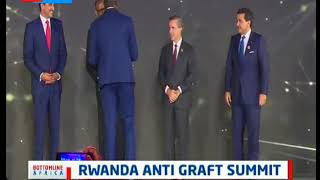 Former Zambian President Kenneth Kaunda receives lifetime award in Rwanda Anti Graft Summit