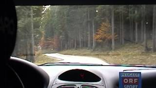 Raphael Sperrer / Per Carlsson, Peugeot 206 WRC, Steiermark Rallye 2002, SP Tauplitzalm-Thörl | © www.riedlfilm.com