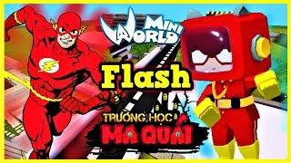 TRƯỜNG HỌC MA QUÁI:-tập 11- 1 ngày làm The Flash   Thử thách làm nhân viên giao hàng cho quán gà KFC