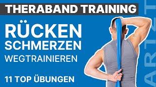 Starker Rücken: 11 effektive Übungen mit dem Fitnessband | ARTZT