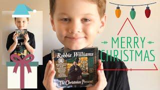 Unboxing Robbie Williams Christmas Album🎁🎄