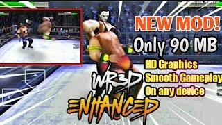 Wr3d 2k 20 mod | new moves | arena change option | new