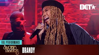Brandy Performs 'Say Something & 'Borderline' At The 2020 Soul Train Awards