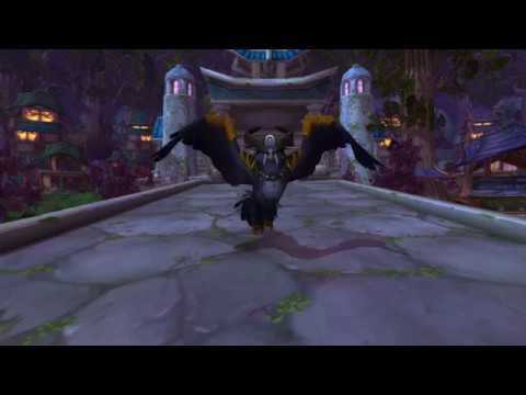 Patch 7.3.5 – Lunarwing Flight Form Landing and Sit Animation