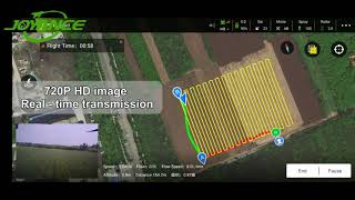 FPV real time image transmission of agriculture sprayer drone