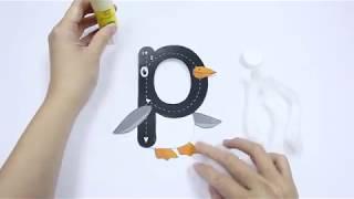 Letter 'p' DIY Craft
