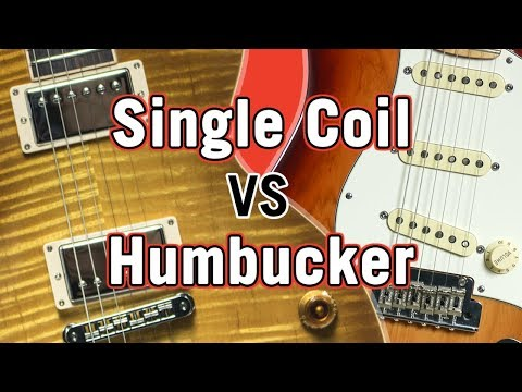 Single Coil vs Humbucker Pickup Tone Comparison