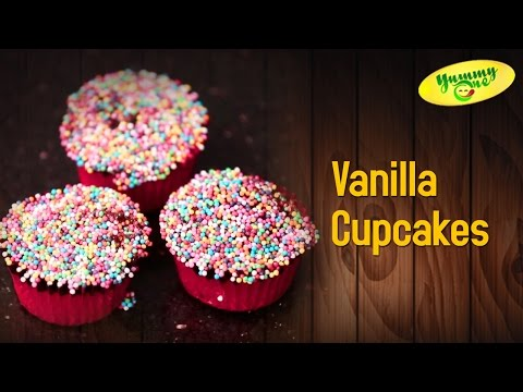 How to Make Vanilla Cupcake Recipes | Yummy One
