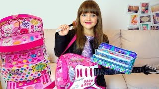 Ksysha Pretend Play Dress Up & makeup Toys for Kids Funny videos with dolls